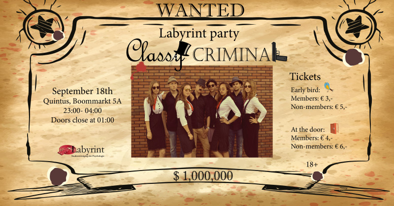 Labyrint Party: Classy Criminal